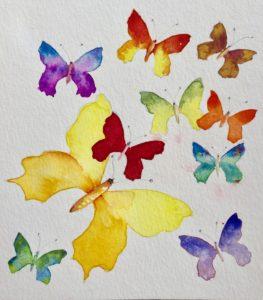 Christine Brandstätter - Schmetterlinge
